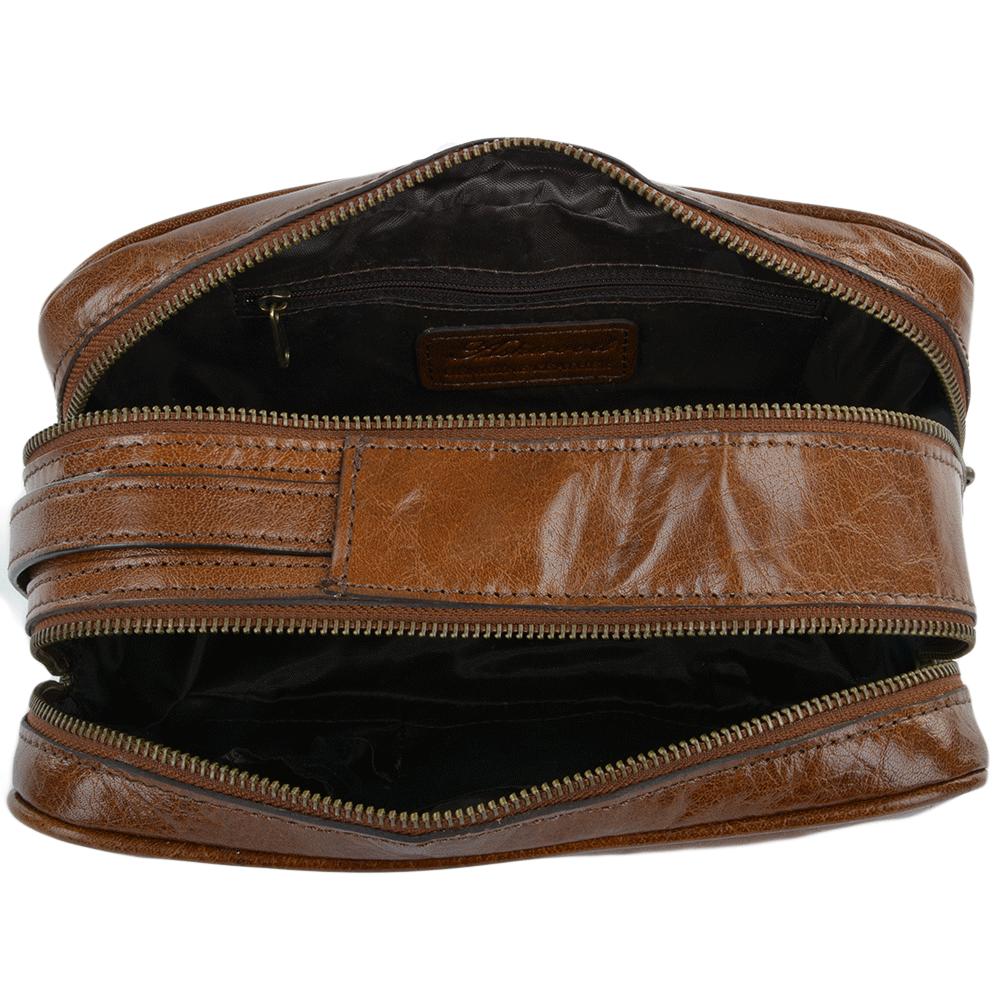 309473335 Mens Leather Washbag Chestnut/vt : 2012 | Mens Leather Bags