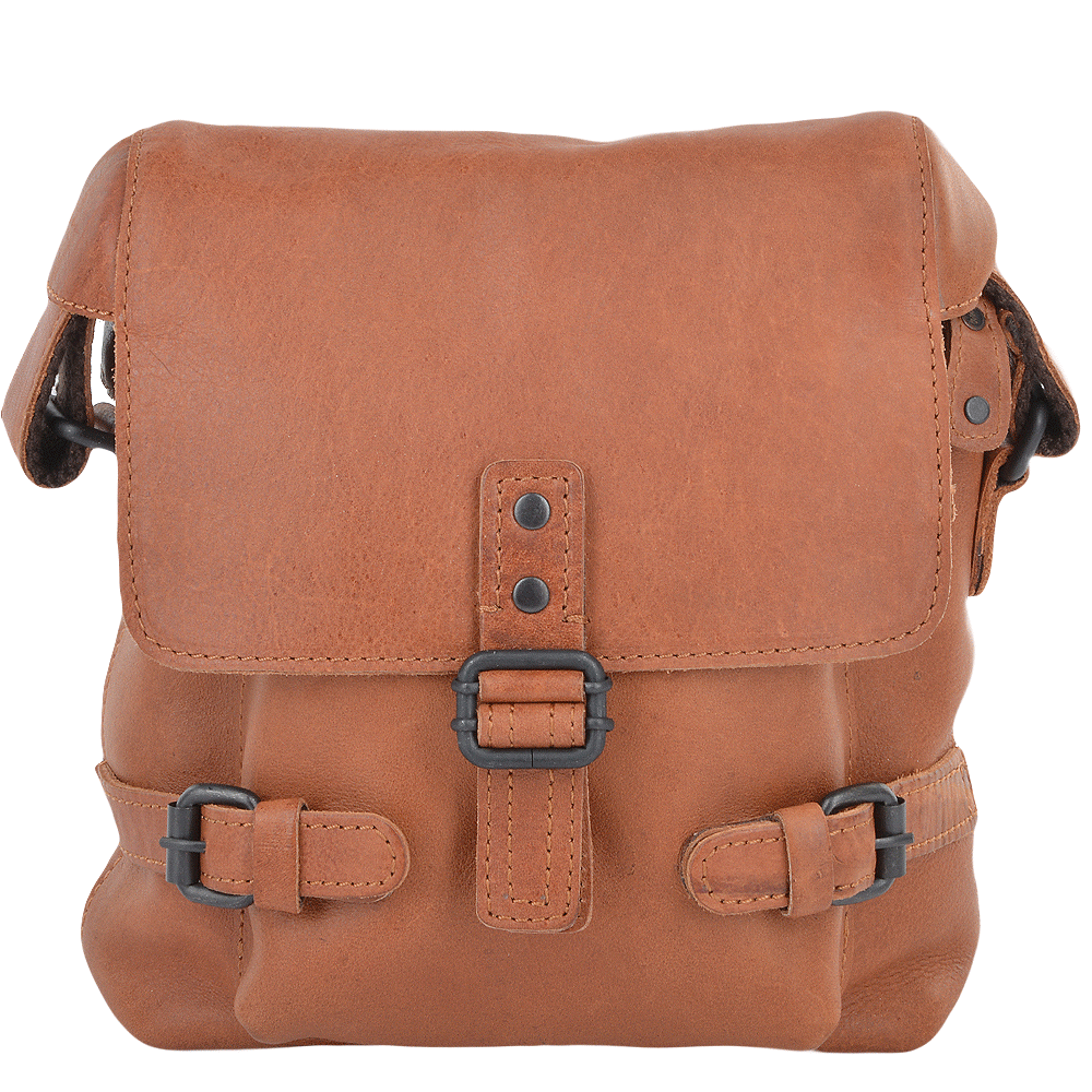 Mens Small Leather Flight Bag Tan Junior Mens Leather Bags