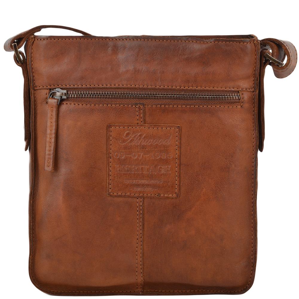 ASHWOOD Small Vintage Leather Travel Bag -7993 - Rust 2a68afcb3f958