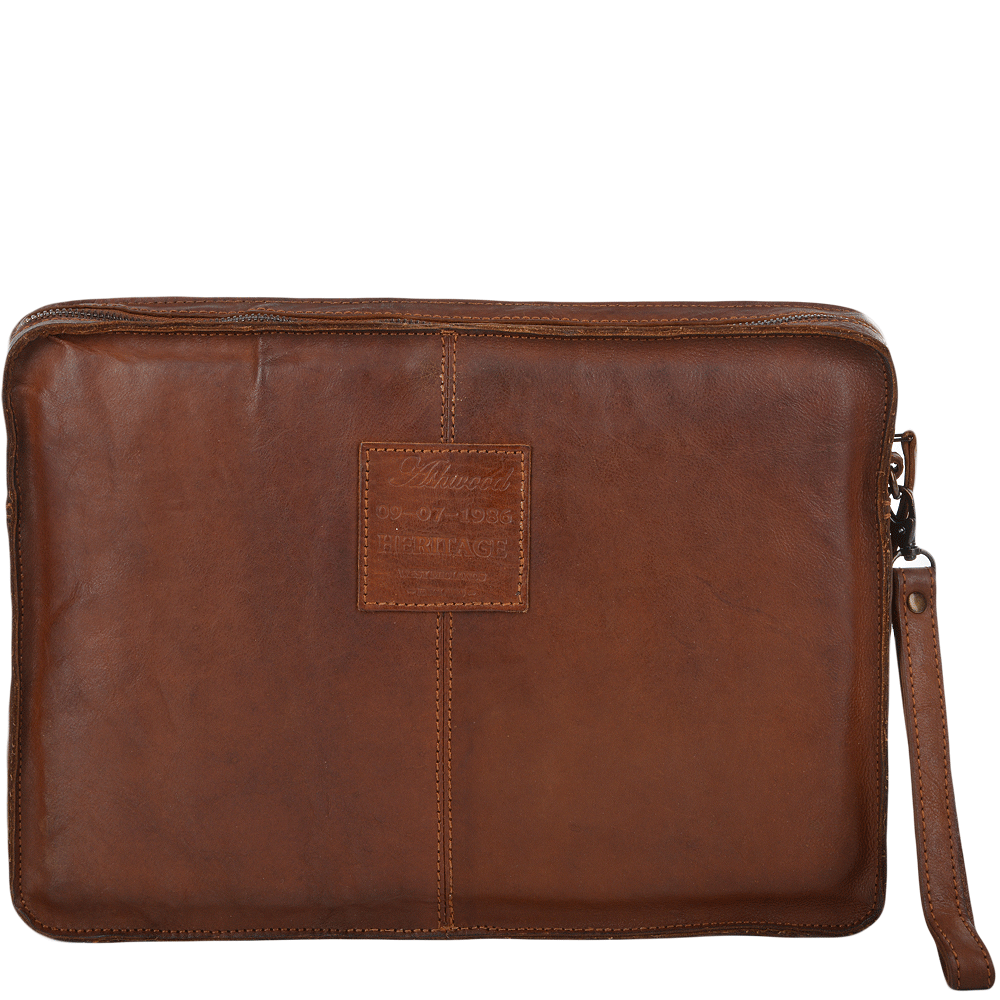 Mens Vintage Laptop Sleeve Rust 7992 Mens Leather Bags