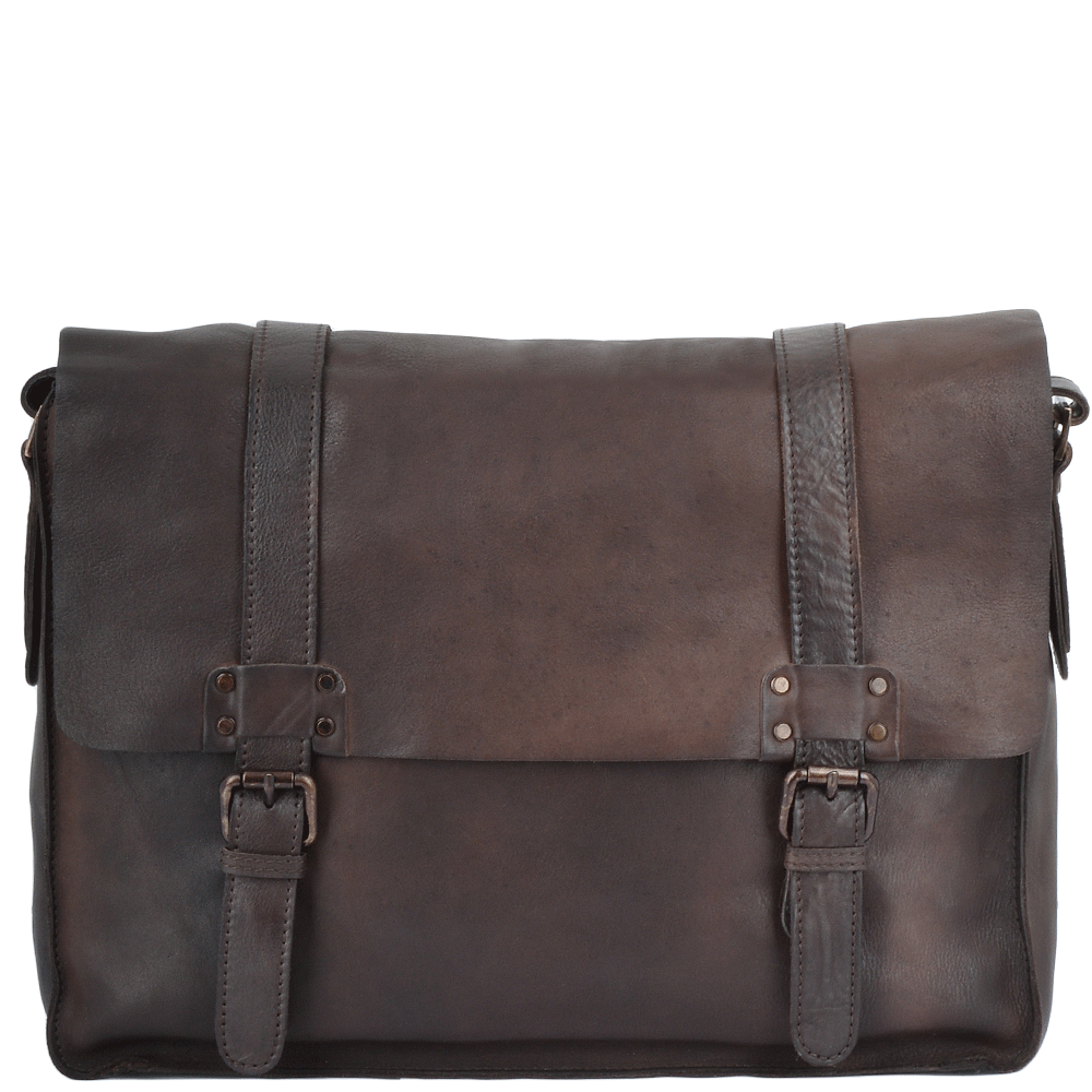 Mens Vintage Leather Messenger Bag Brown 7996 Mens Leather Bags