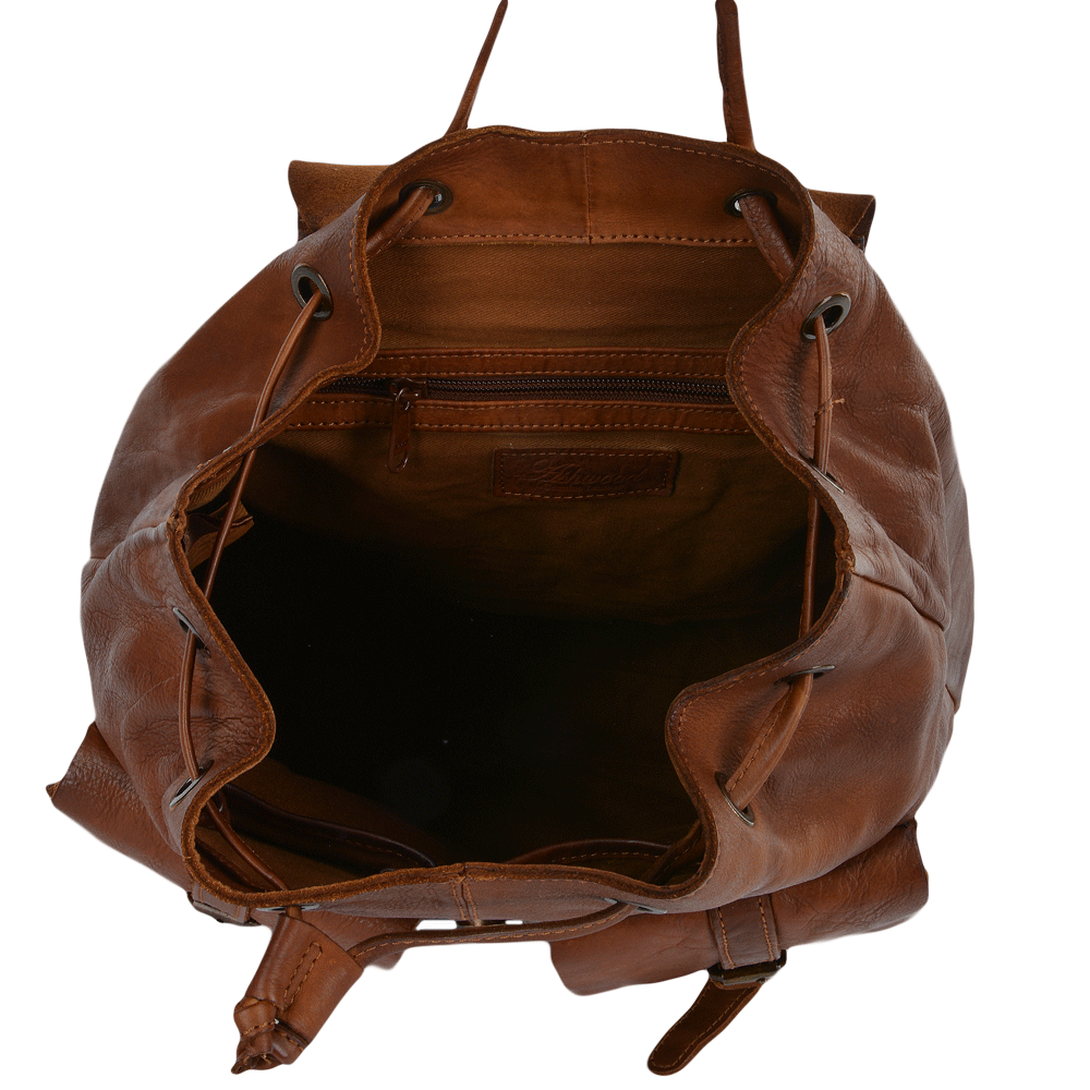 Mens Vintage Leather Rucksack Rust 7990 Mens Leather Bags