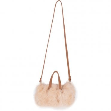 f11cfcab8326 Micro Toscana Sheepskin Shoulder Bag Whisky Cream  KB 06