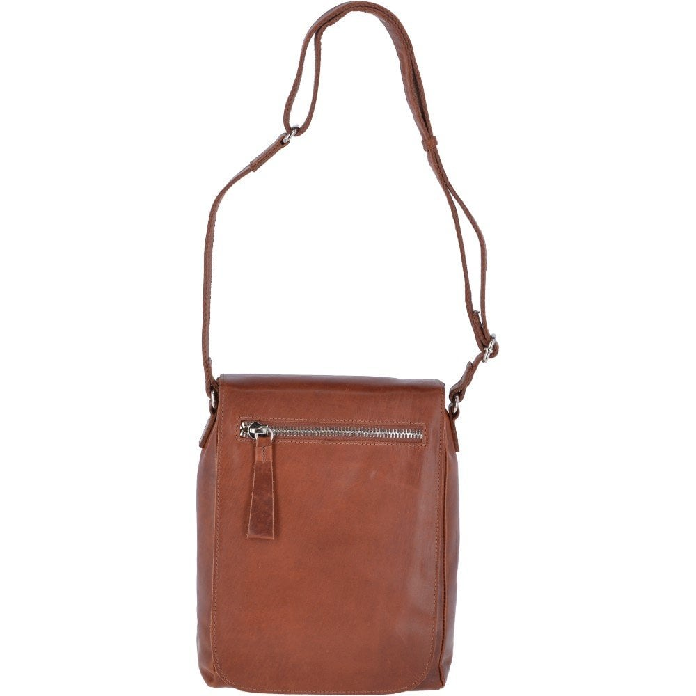 709813d80 Oily Hunter Large Travel Flight Bag Tan: 1665 - Mens from Leather Company UK