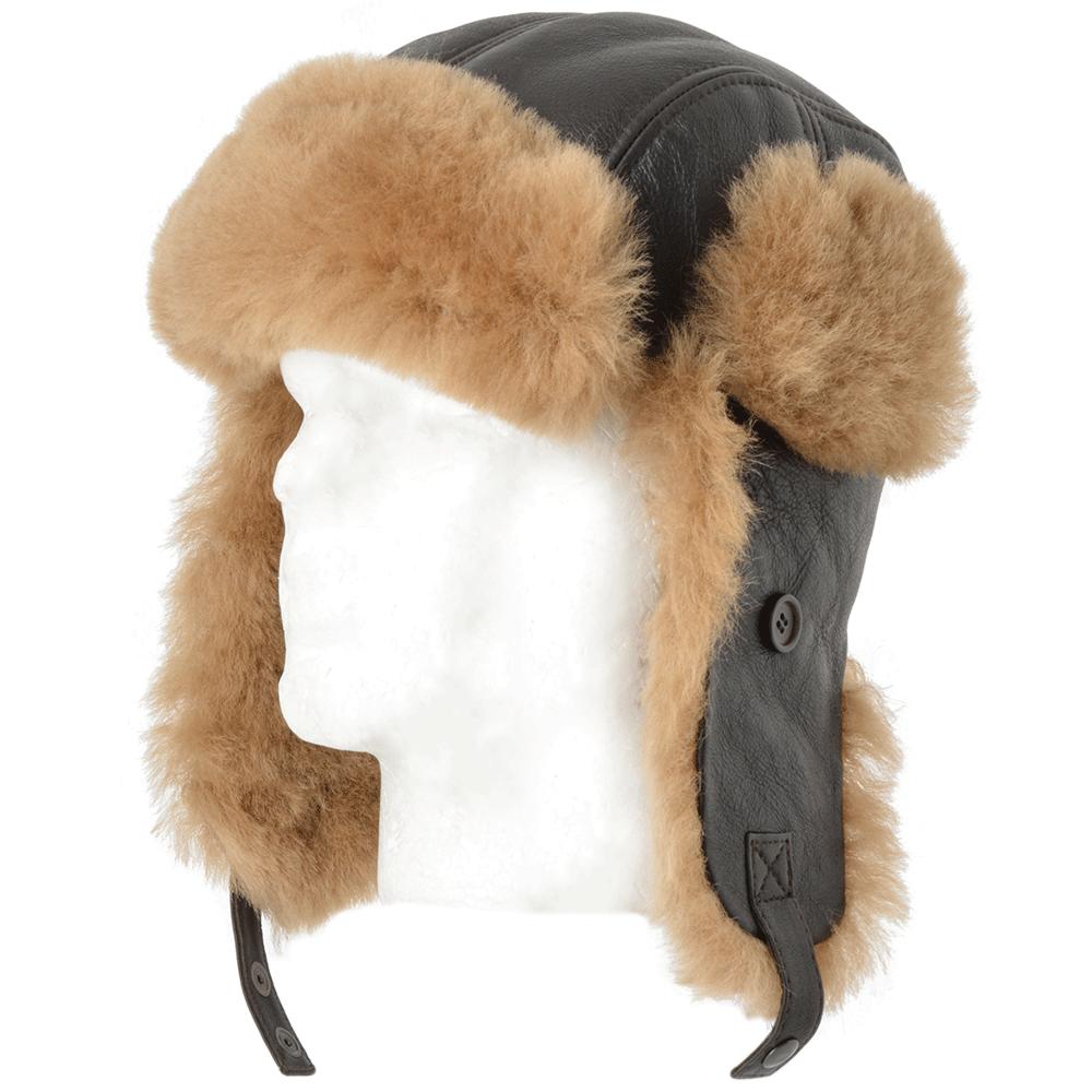 f2f8ea1d5fc462 Sheepskin Hats | Trapper Hats | Leather Company