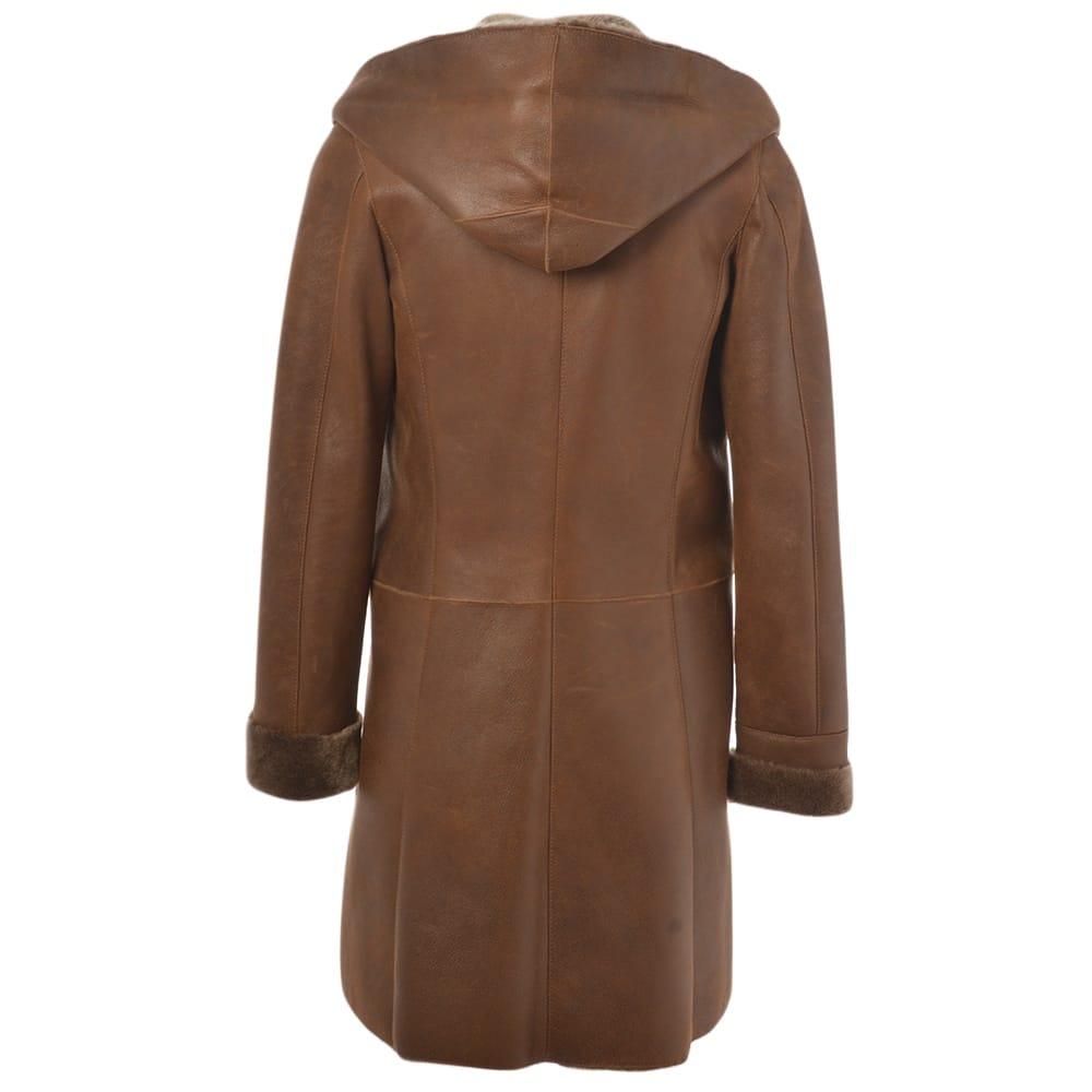 Sheepskin womens coats