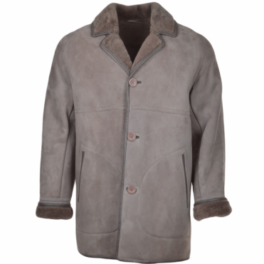 Sheepskin Coat Gray : Hektor