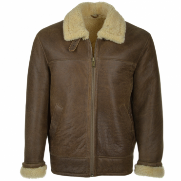 Sheepskin Flying Jacket Antique : Hunter