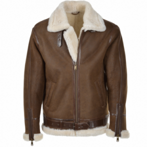 Sheepskin Flying Jacket Antique : Leo