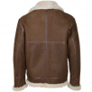Ashwood Sheepskin Flying Jacket Antique : Leo