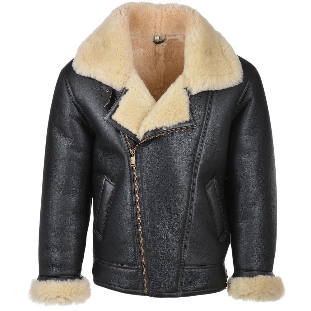 Mens Sheepskin Flying Jacket : Luan | Mens Sheepskin Jackets