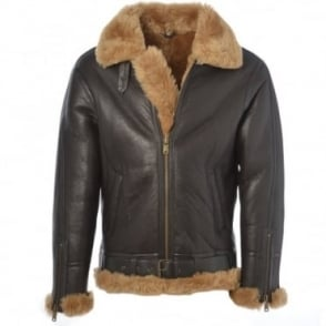 Sheepskin Flying Jacket Ginger : Leo