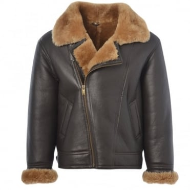 Sheepskin Flying Jacket Ginger : Luan