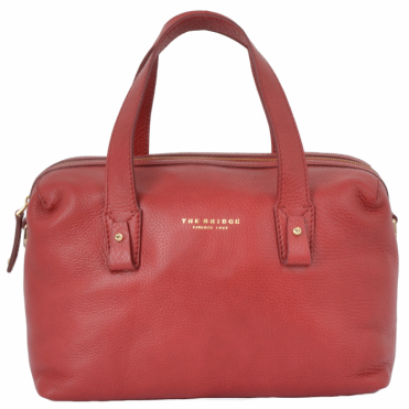 d294ef5591 The Bridge Medium Italian Handbag Red Current gold- 44375 79 2E NH