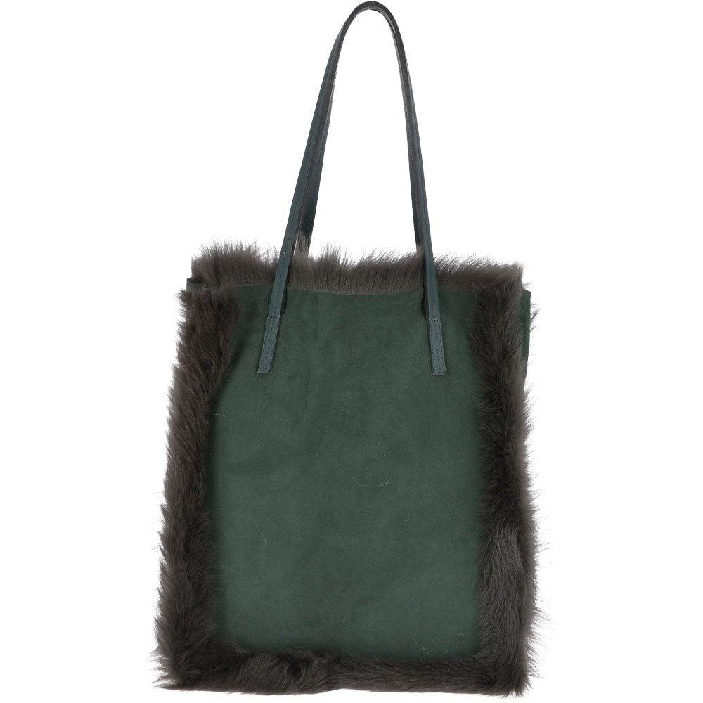 b7c0eac113b6 ASHWOOD Toscana Sheepskin Leather Bag Green   KB 05 - Handbags from ...