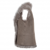 Ashwood Toscana Suede Leather Gilet Topo : Kachina