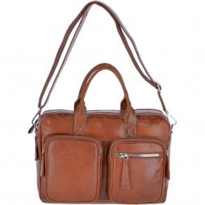cc03fc85210 Medium Leather Shopper & Work Bag Tan : Lauren - Luggage from ...