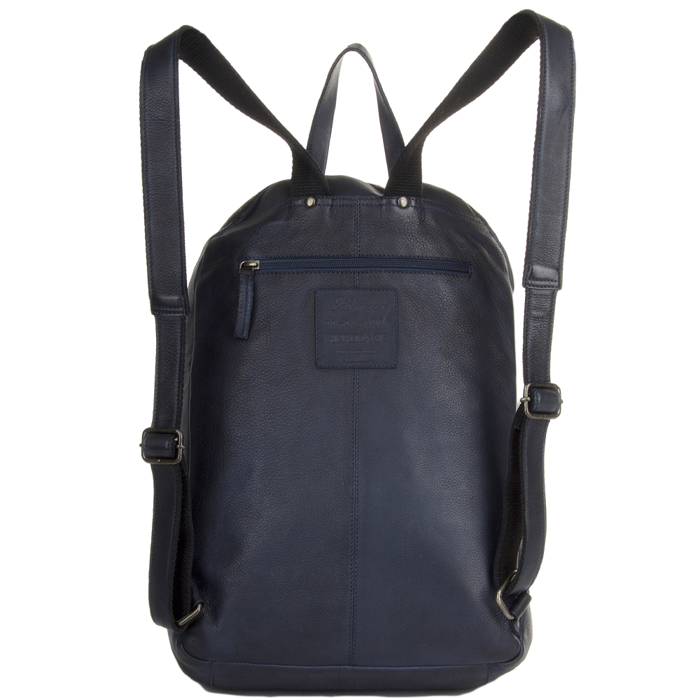 how to clean leather backpack