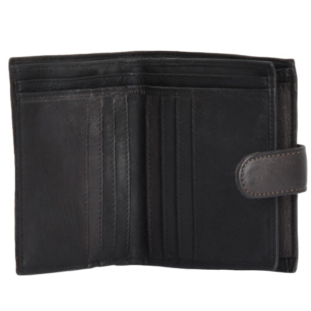 Ashwood Shoreditch Antique Mens Leather Wallet
