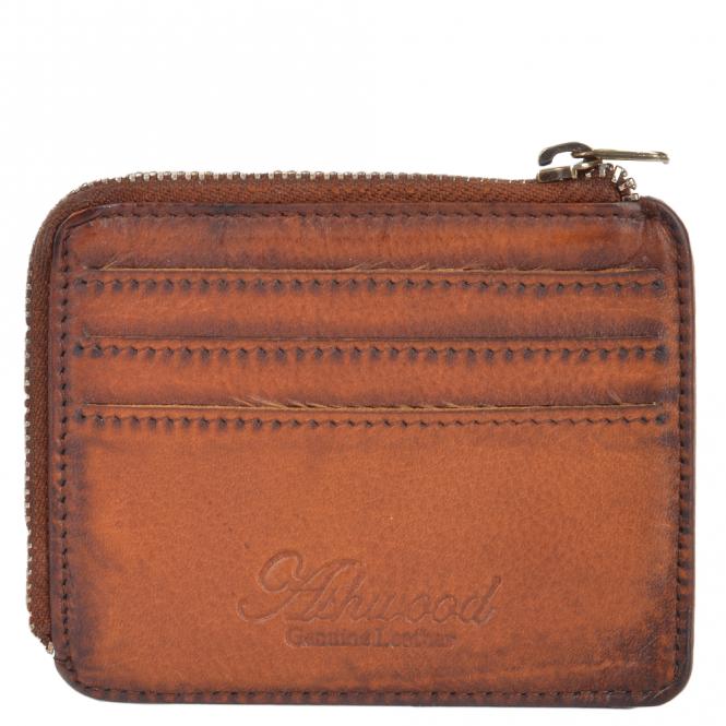 69c765192d3e2 Mens Vintage Wash Leather Wallet Rust   1364
