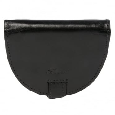 Leather Wallet Black : 1293-vt