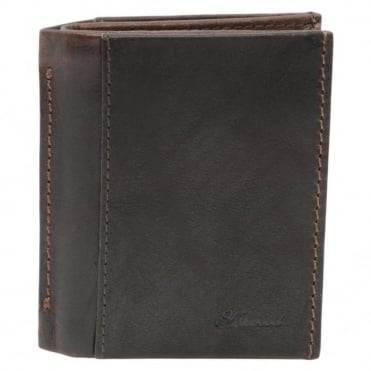 Leather Wallet Brown/crum : 1415 C
