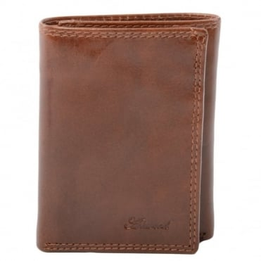 Leather Wallet Tan : 1265-vt