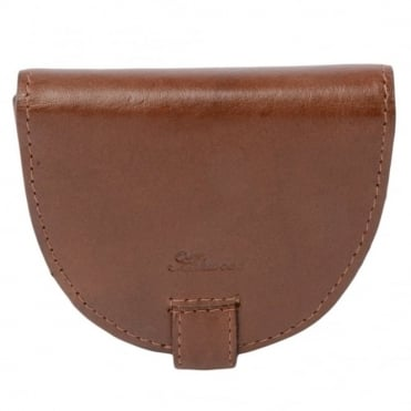 Leather Wallet Tan : 1293-vt