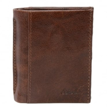 Leather Wallet Tan/crum 1415 C