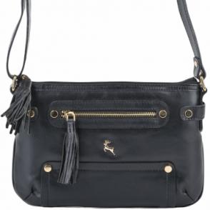 Womens Small Leather Bag With Purse Pocket Mushroom   61511 ... 0ab1fd8538f6f