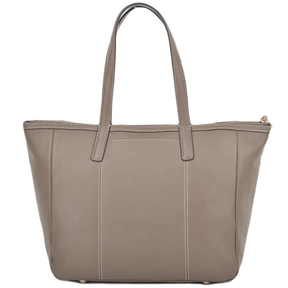 92f5c3952a68 Womens Leather Tote Bag Mushroom : 61638