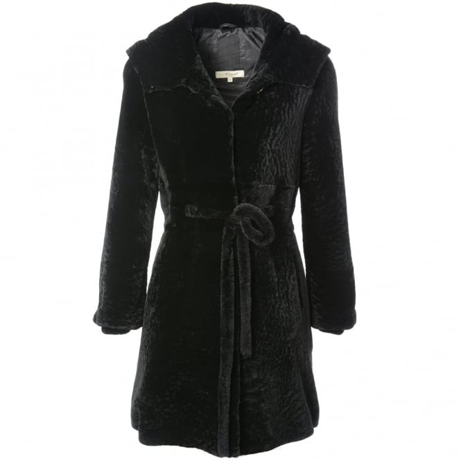 Ashwood Womens Sheepskin Coat Black : Kb-540