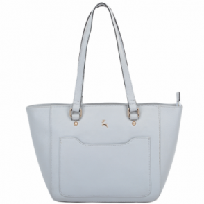 Womens Small Leather City Shopper Bag Ice : 61513