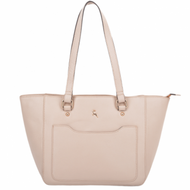 Womens Small Leather City Shopper Bag Lychee : 61513