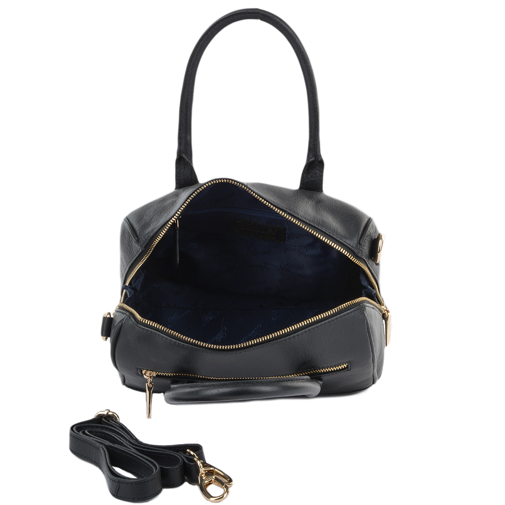 Beautiful Ladies Black Leather Shoulder Bags U2013 Shoulder Travel Bag