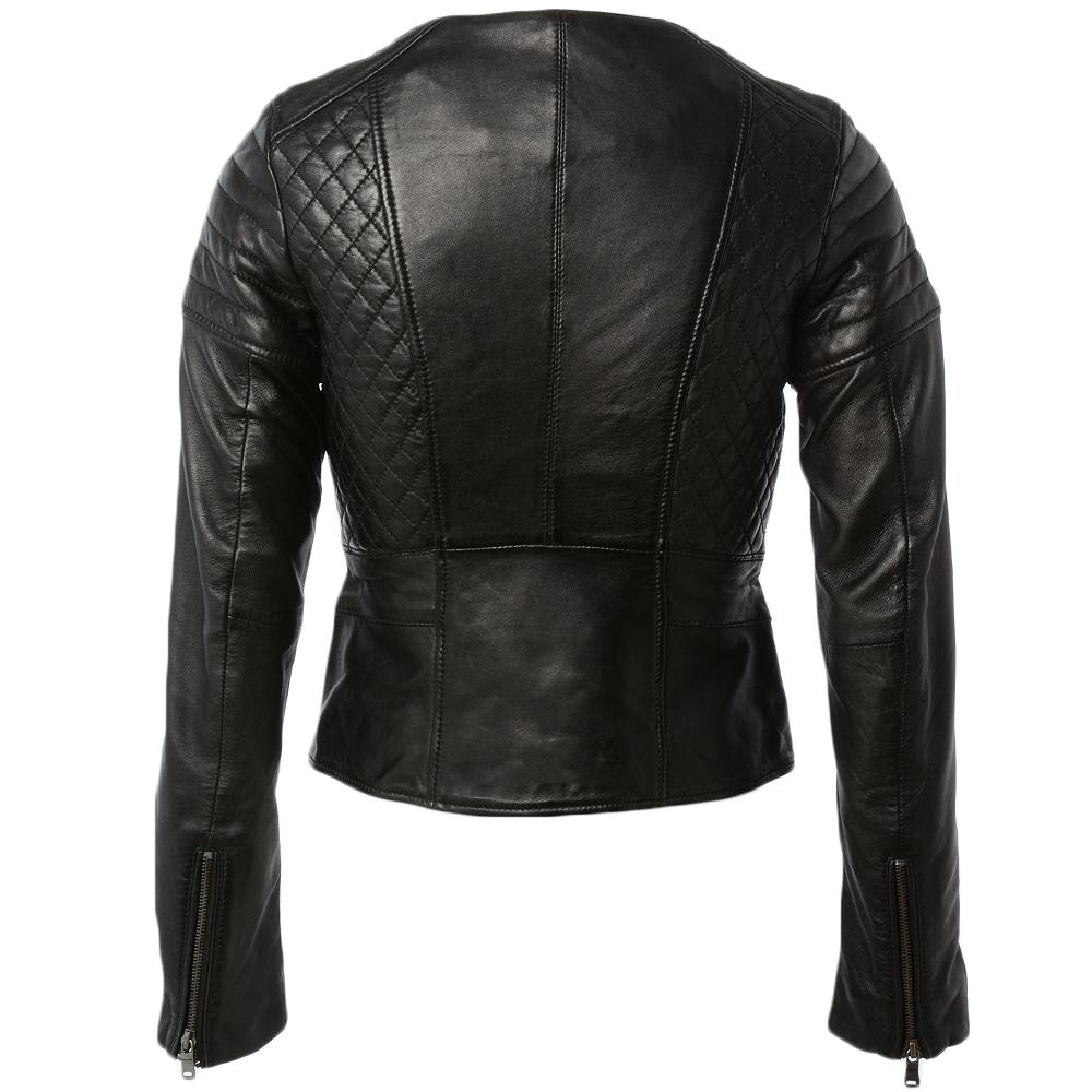 Womens Leather Jacket Black Mary Women S Leather Jackets