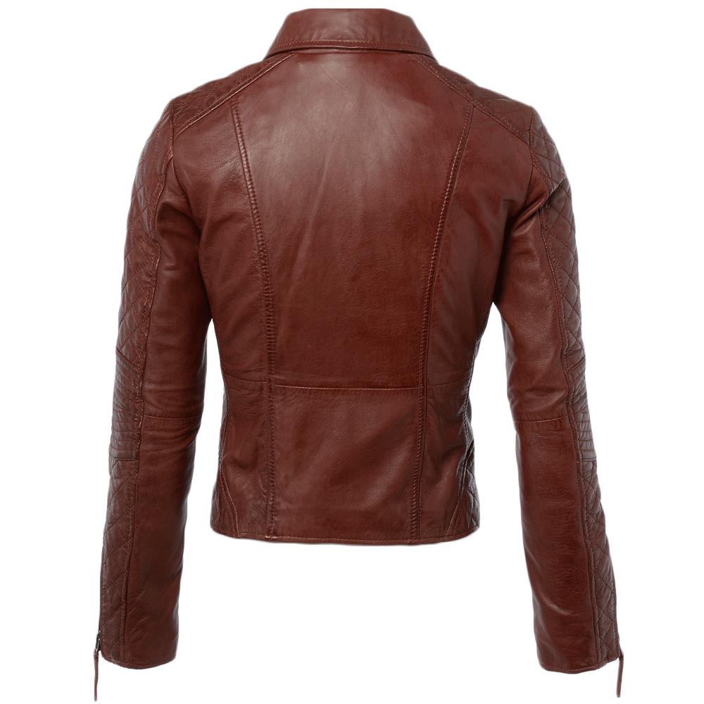 Womens Leather Jacket Veg Ox Blood Cora Women S