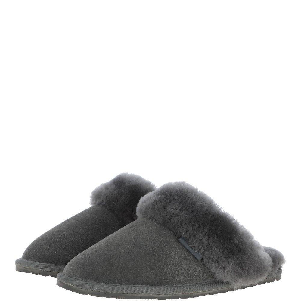 Classic Ladies Suede Sheepskin Slippers