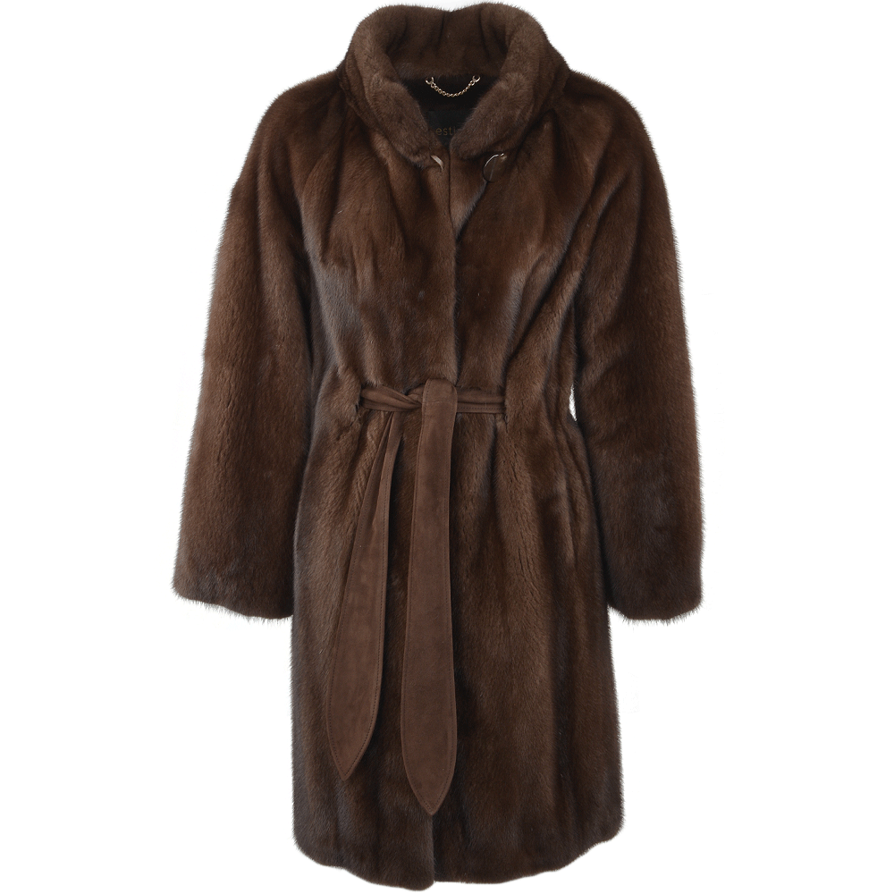 Mink Coat Brown Imola