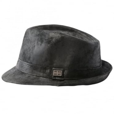 Leather Hat Black : Eh300
