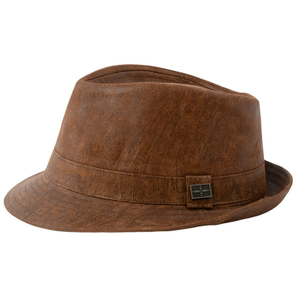 Mens Leather Hat Tan Eh300 Ashwood Leather
