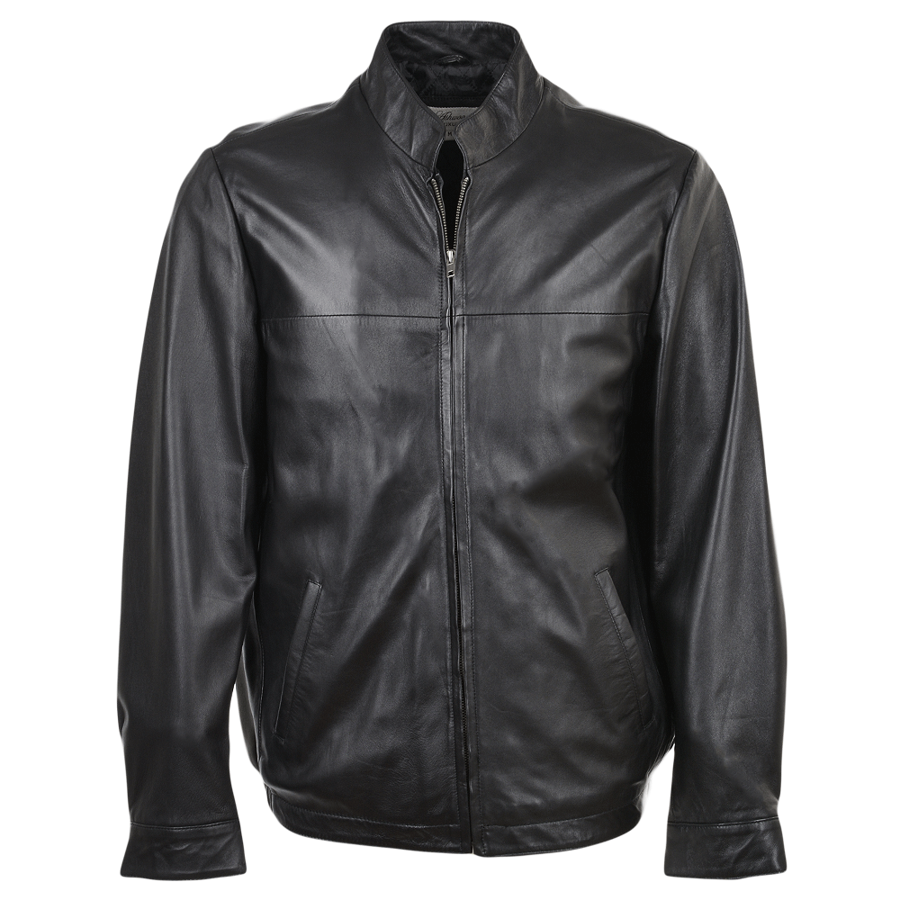 Mens Leather Jacket Blackddy Marlon Jackets