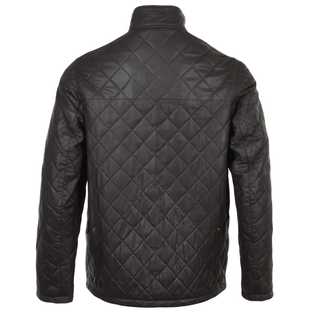 Leather jacket png -  Fenland Leather Jacket Brown Napp Diamond Earl