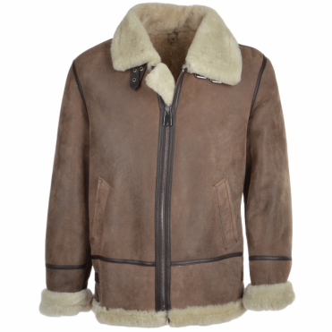 Sheepskin Flying Jacket Antique : Winslow