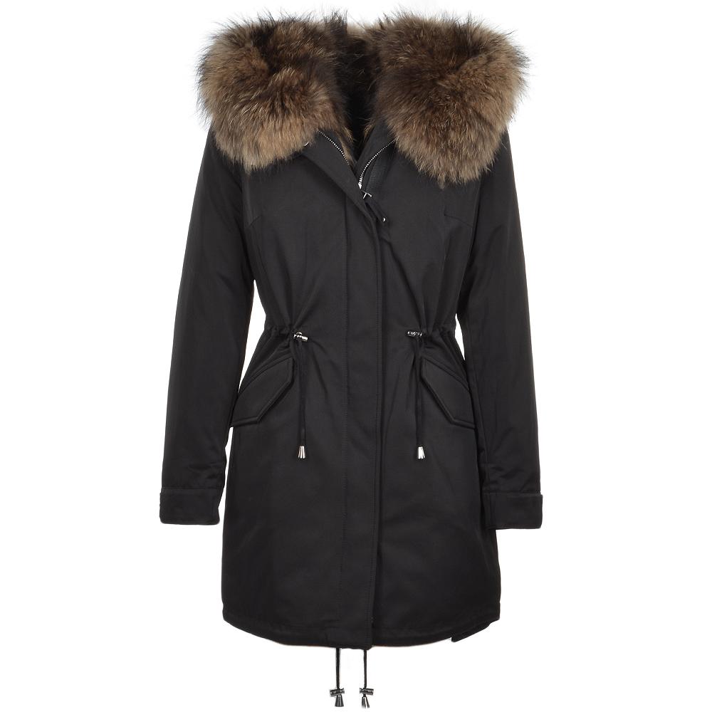 2016 Womens Fashion T Nagymaros Collar Fur Coat Winter And