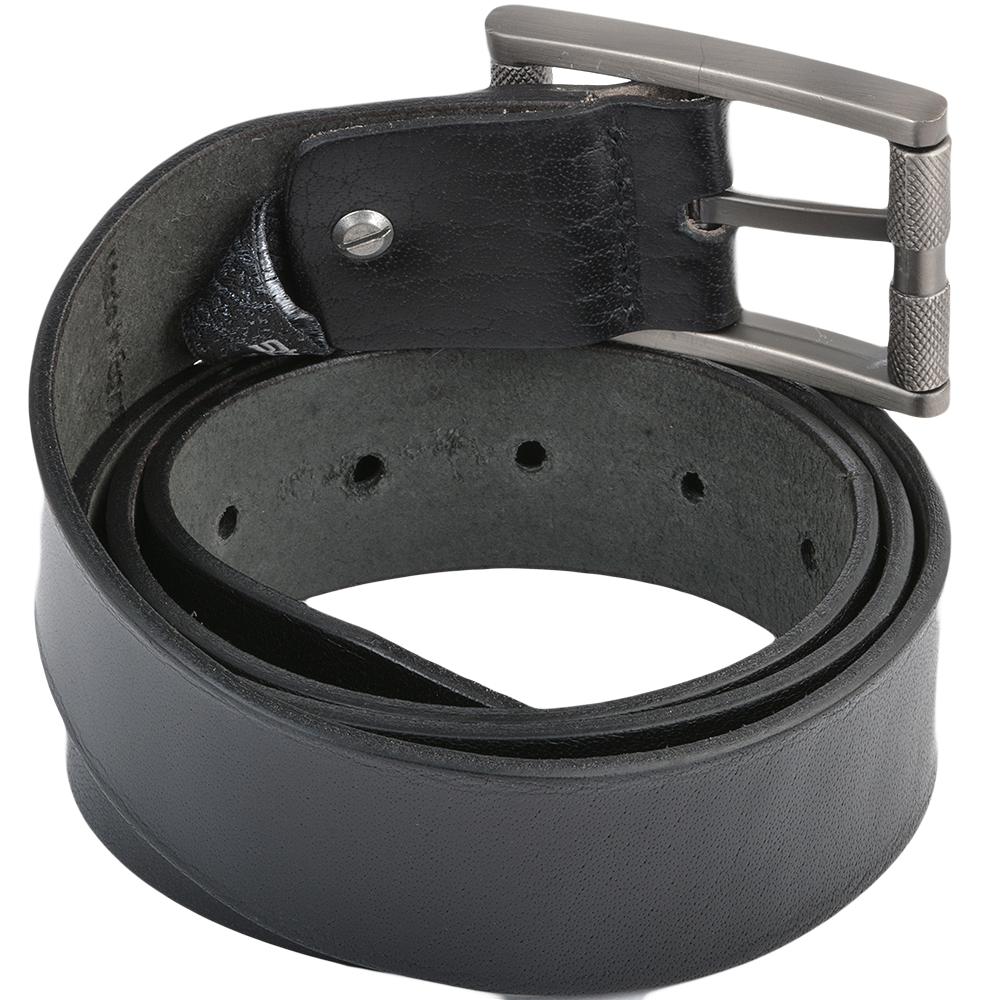 mens leather belt black stones b3 leather accessories
