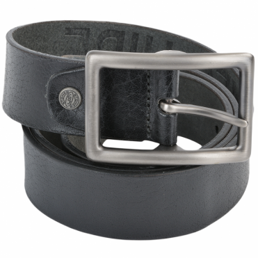 Leather Belt Black : Stones B5
