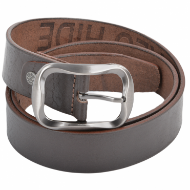 Leather Belt Brown : Stones B1