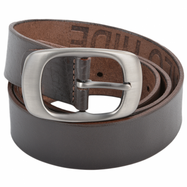Leather Belt Brown : Stones B2