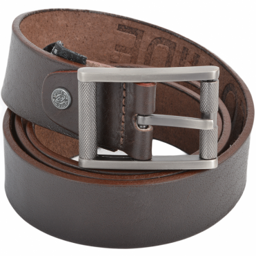 Leather Belt Brown : Stones B3